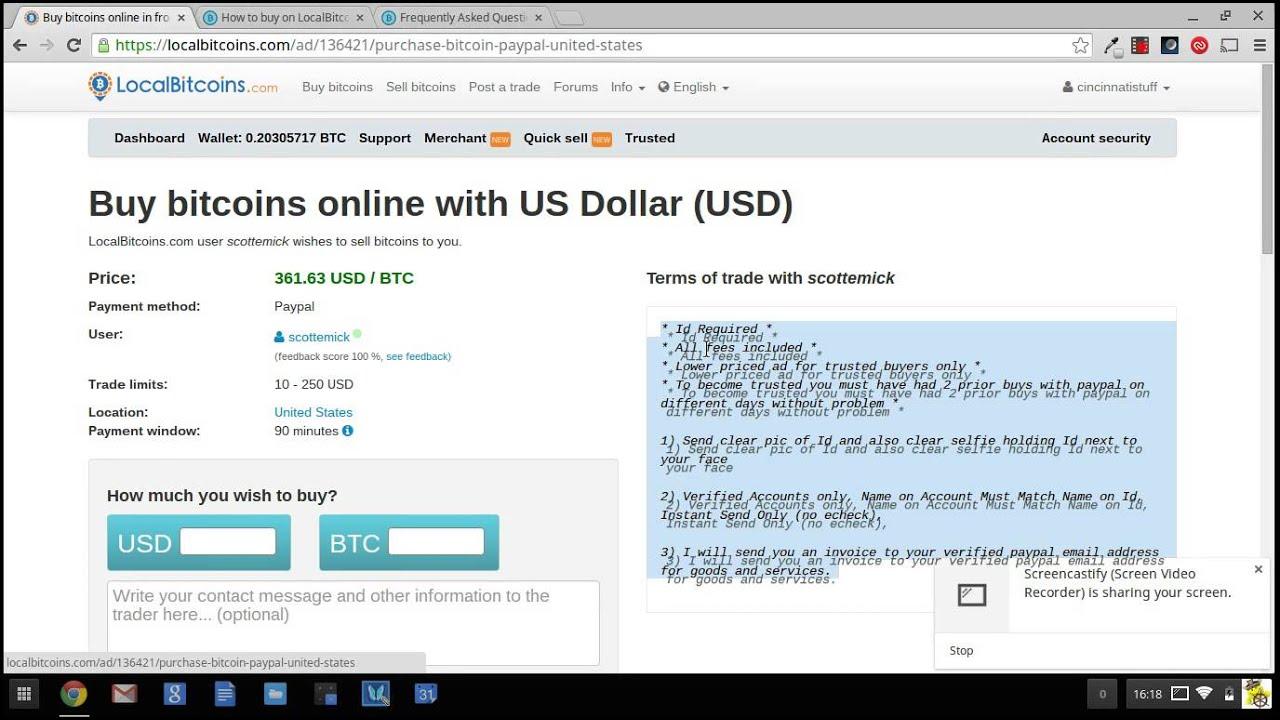 How to buy bitcoins on localbitcoins youtube how to buy bitcoins on localbitcoins ccuart Gallery