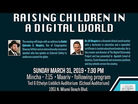 Raising Children in a Digital World
