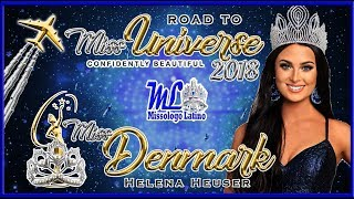 Miss Universe Denmark 2018 - Helena Heuser - Road To Mu 2018