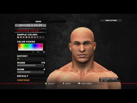WWE 2K14 CREATION SUITE LIVE CREATE A SUPERSTAR