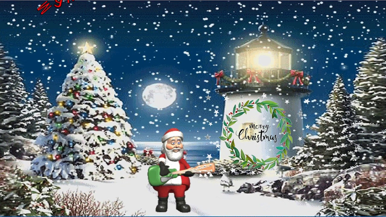 Best Merry Christmas Animation Video Christmas Wishes Greetings
