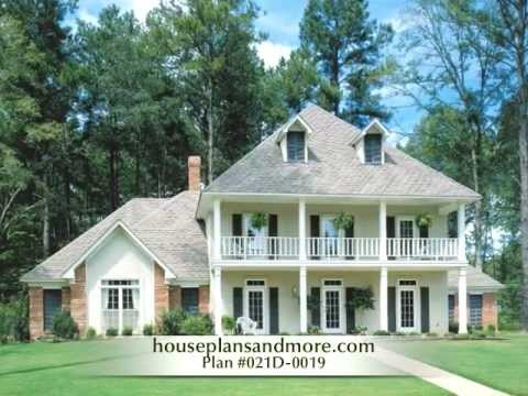 Southern Plantation Houses Video 2 House Plans and More YouTube