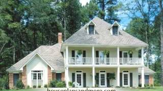 Southern Plantation Houses Video 2 | House Plans And More