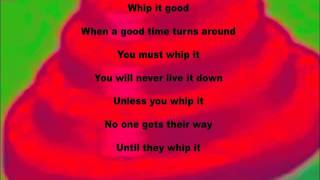 devo whip it cover