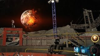 """""""ZOMBIE CHRONICLES"""" MOON EASTER EGG ENDING - BLOWING UP EARTH!  (Black Ops 3 Zombies DLC 5)"""