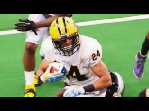 Keith Woodson 2016 Chicago Blitz Arena Football Highlight