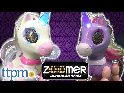Zoomer Zupps Tiny Unicorns from Spin Master