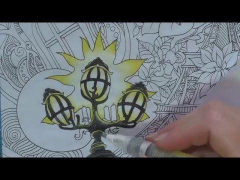 Colouring Tutorial: How to use Inktense Pencils
