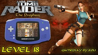 Tomb Raider: The Prophecy (GBA) - Level 18 [MONK] Walkthrough