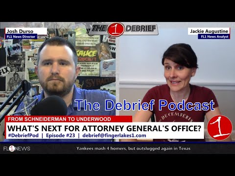 Brittany's Law, Eric Schneiderman & Texting at Jerusalem Meeting .::. The Debrief Podcast 5/24/18