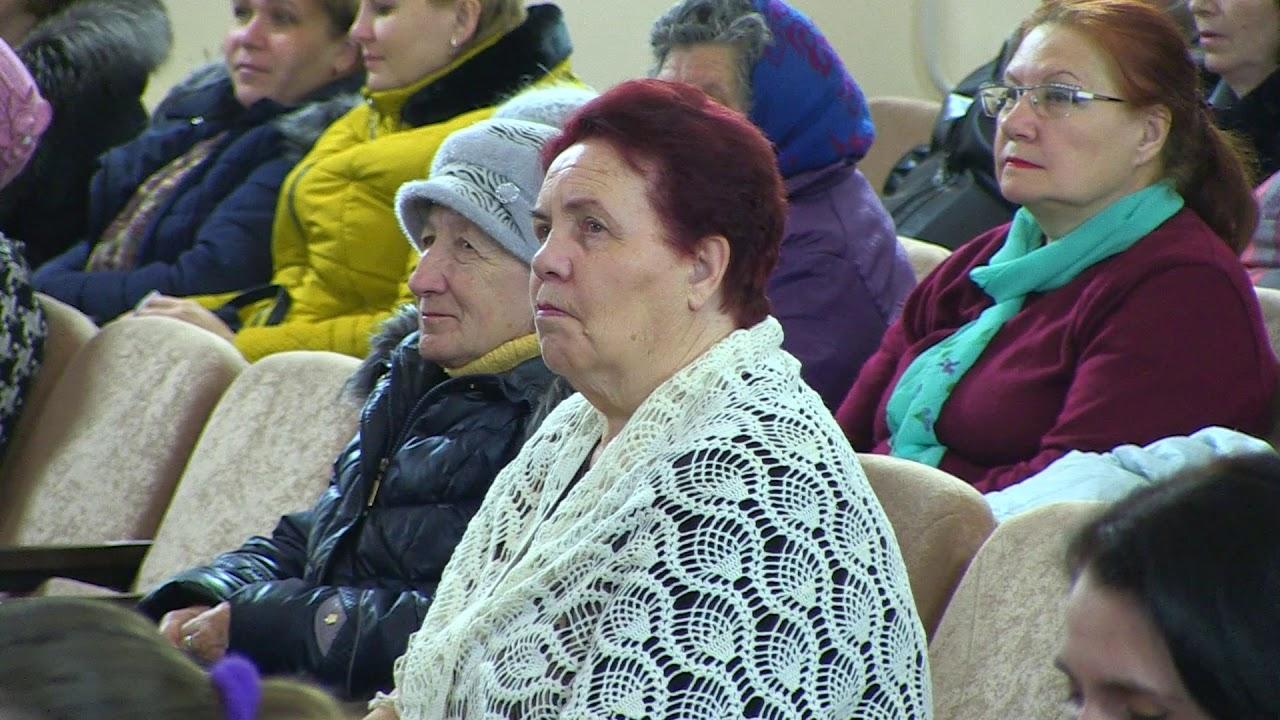 Ежегодное собрание жителей в Быково