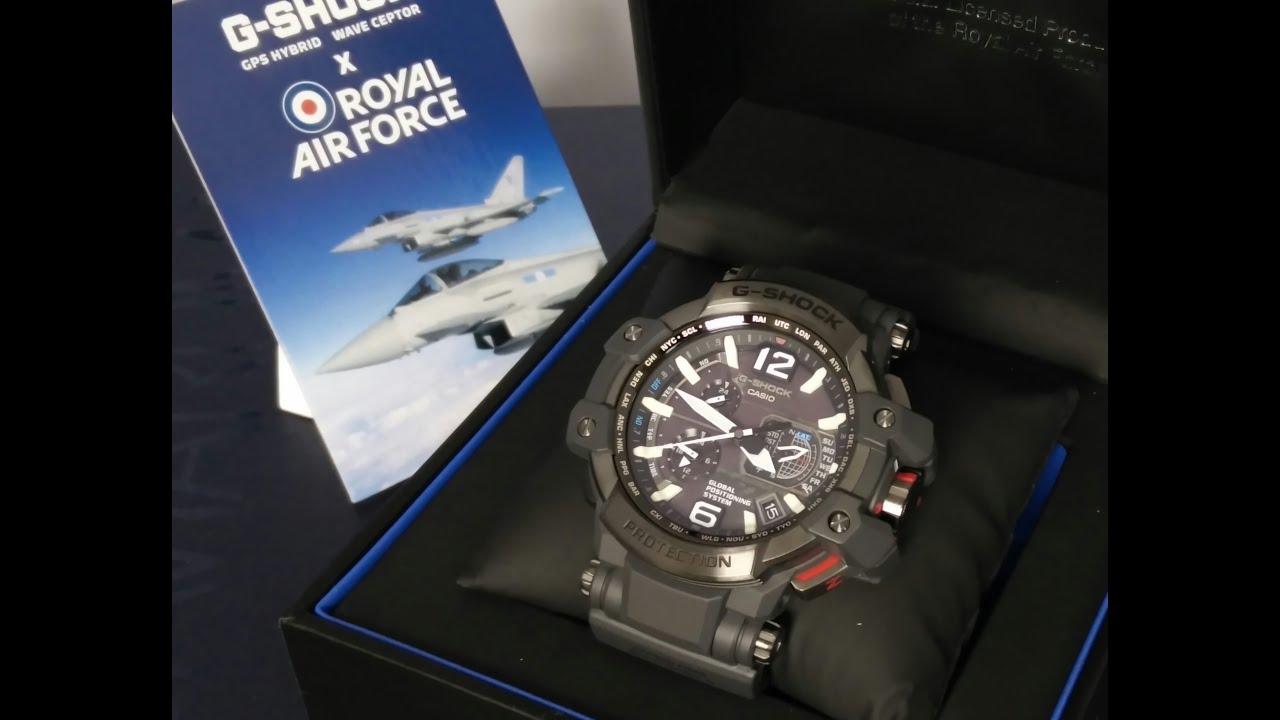 G-Shock x Royal Air Force GPW-1000RAF Watch