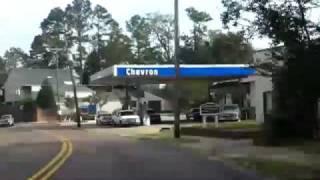 Driving Around Natchez, Mississippi Drivelapse Time Lapse