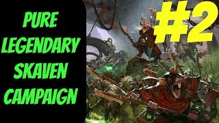 Pure Legendary Skaven Campaign #2 (Queek) -- Total War: Warhammer 2