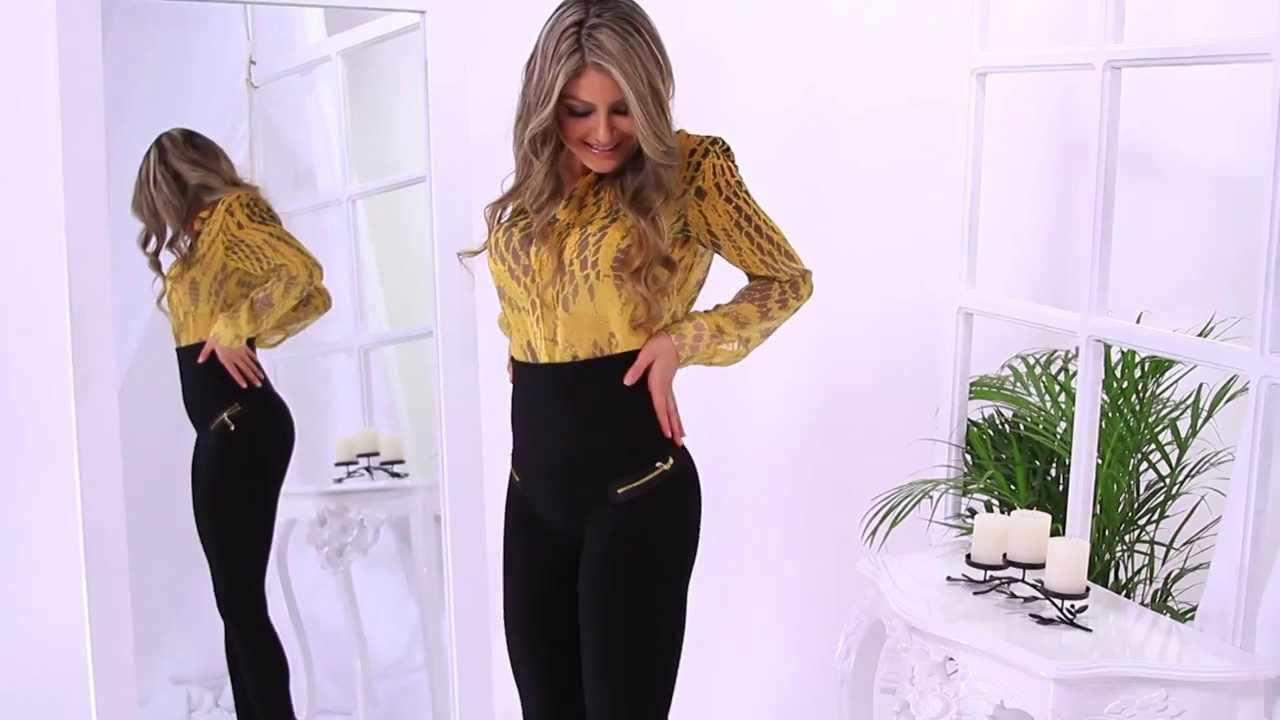 Hollywood Pants - Teleshopping. - YouTube