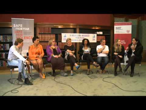 Peace One Day Live Global Moment - The Hague (Reducing Domestic Violence)