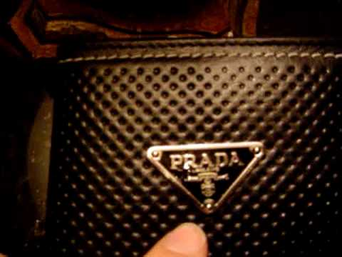0f56e6b87150 How to avoid buying a FAKE PRADA wallet - YouTube