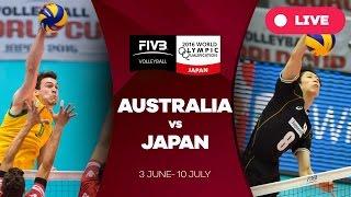 Australia v Japan - 2016 Men's World Olympic Qualification Tournament