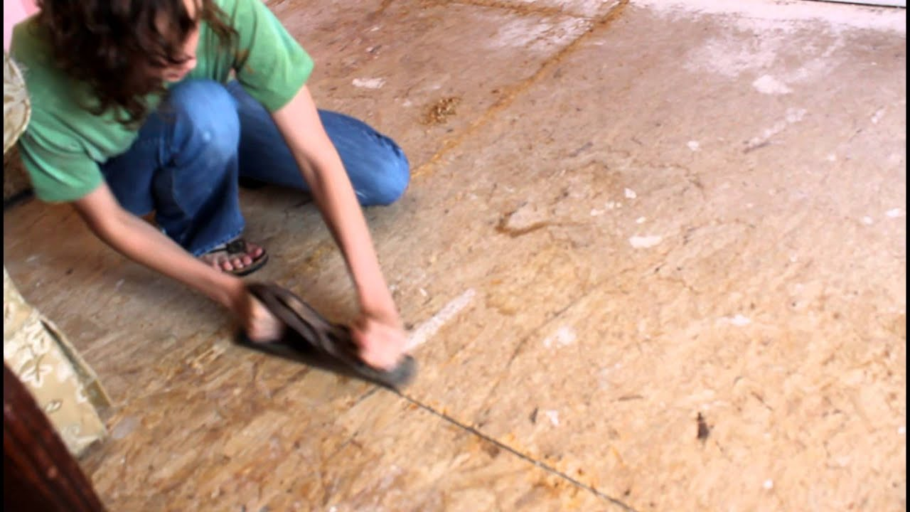 Preparing Subfloor So We Can Put Down Hardwood Laminate Flooring