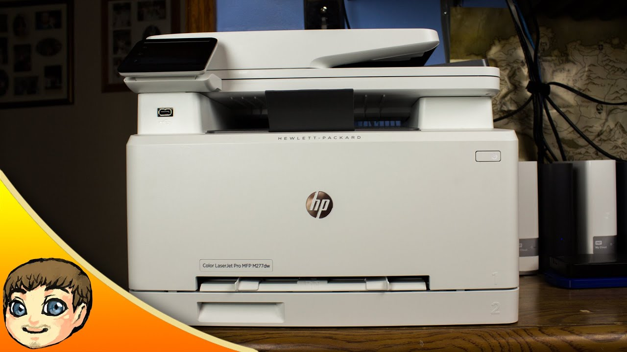 Color printing vs black and white cost - Hp Color Laserjet Pro Mfp M277dw Review Fast Simple Sponsored Youtube