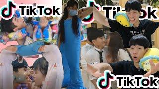 (Tiktok VN reaction)Xin vui lòng xem video với người Hàn Ti cô đơn l Jbros(Lưu ý: Có cookie video)