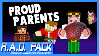 Proud Parents - Minecraft: R.A.D Pack #33 (Roguelike, Adventures and Dungeons Modpack)