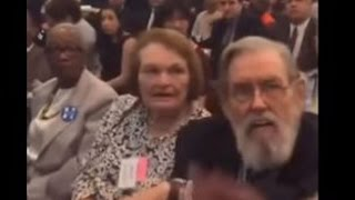 Clinton Delegate Beats Sanders Supporter With Cane (VIDEO)
