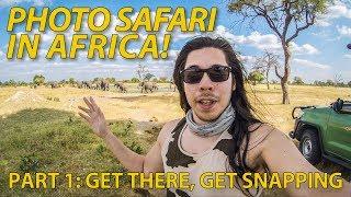 Photo safari in Africa! Photographing wild animals in Zimbabwe (Part 1)