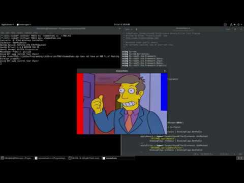 Steamed Hams but it's rendered with the FNA VideoPlayer and FAudio  Reverb/Low-Pass Filter