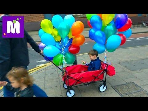 4 000 000 ПОДПИСЧИКОВ Шарики Торт и Спиннер million subscribers Spinner Balloons & Birthdsy cake