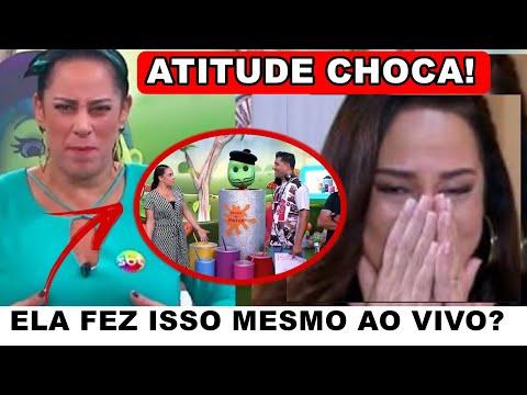 Filha De Silvio Santos, Silvia Abravanel Tem Atitude AO VIVO Impressionante Com Funcionários E...