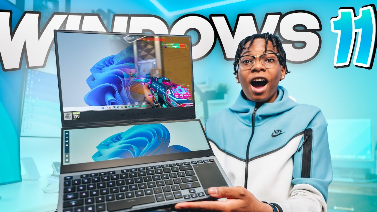 Gaming On Leaked Windows 11 - Is It Possible? (Fortnite, Valorant, COD)