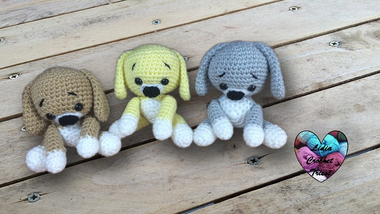 Puppies Amigurumi Crochet English Subtitles
