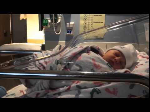 Baby Brendan Born Christmas Day! Birth Vlog!