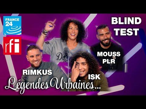 Youtube: Légendes Urbaines: Blind test avec ISK, RIMKUS et MOUSS PLR!!