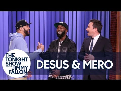 Desus & Mero Give Their Take on Dunkin' Donuts Shoes, Jersey Shore and Trump