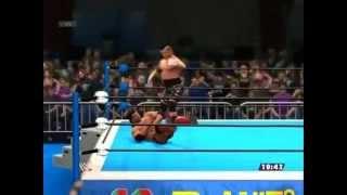 【WWE2K14】天山広吉 vs スコット・ホール【XBOX360】- Hiroyoshi Tenzan vs Scott Hall -