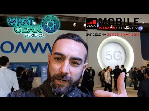 Qualcomm MWC 2018 Booth Tour