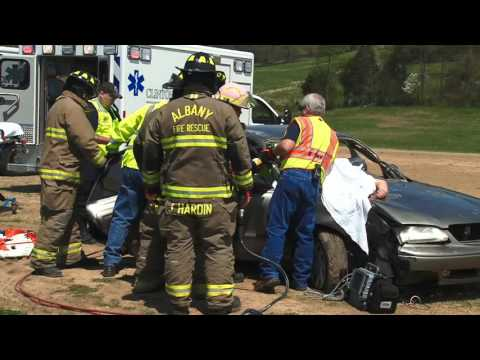 Clinton County High Mock Accident