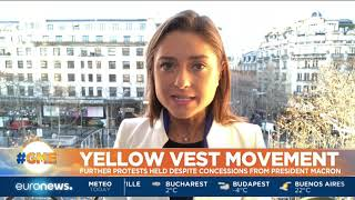 Yellow Vest protests held despite concessions from President Macron   #GME  