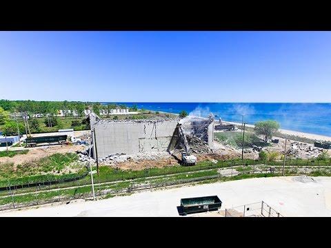 Time Lapse Video - Zion Nuclear Power Plant Demolition