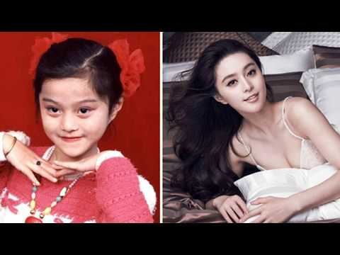 BINGBING 范冰冰  From 1 to 35 years old 從1到35歲