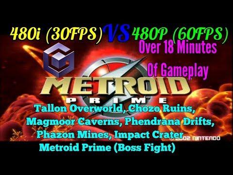 Metroid Prime GameCube 480i 30FPS Vs 480P 60FPS,74VDO - VideosTube