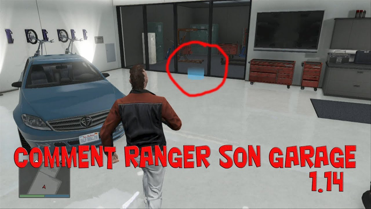 comment ranger son garage gta 5 online youtube. Black Bedroom Furniture Sets. Home Design Ideas