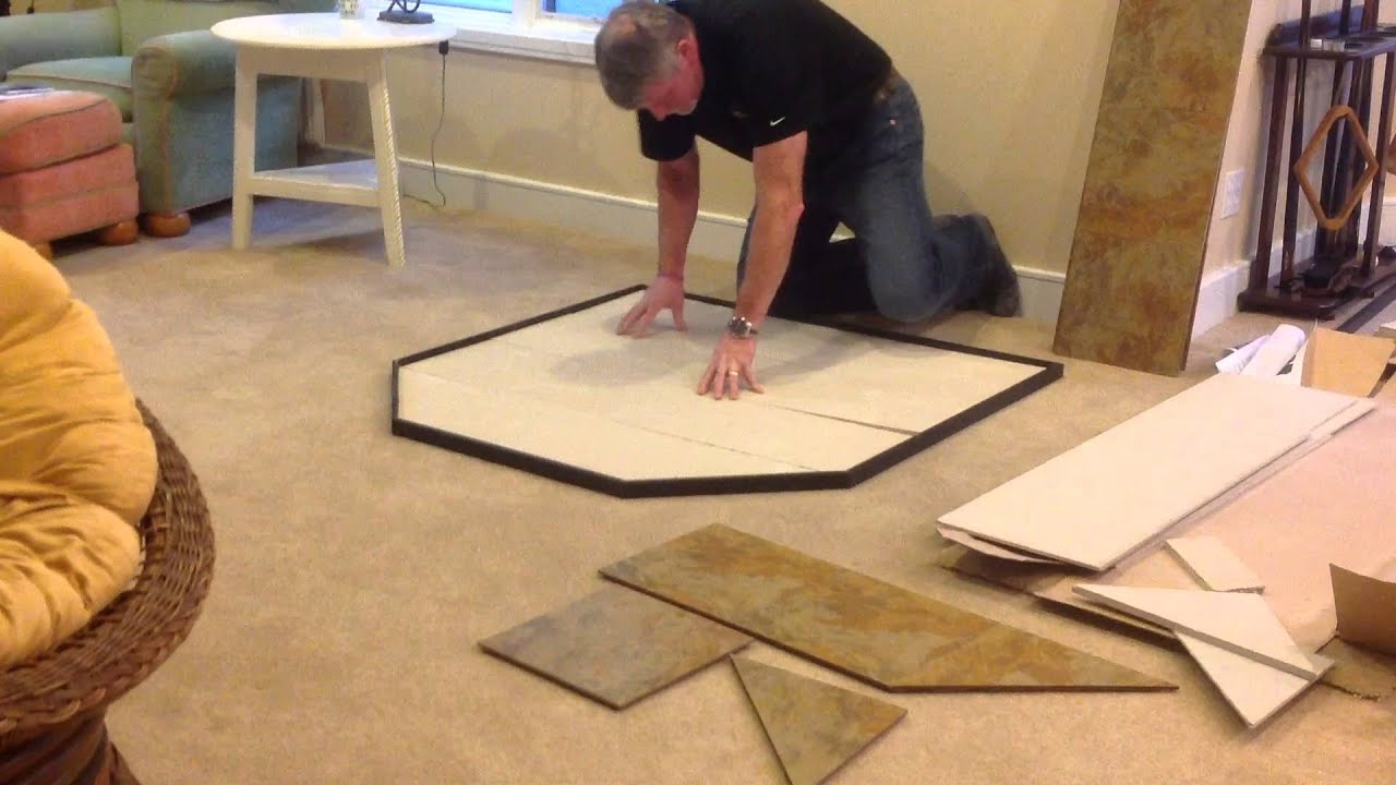 Modular Hearth Pad By American Panel Hearth Classics Youtube
