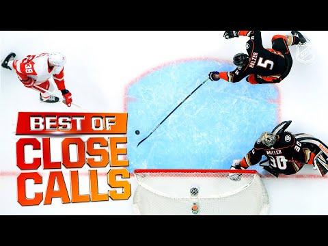 Best Of Close Calls!   2019-20 NHL Season