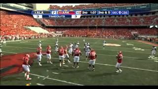 2010 #1 Alabama vs #10 Arkansas