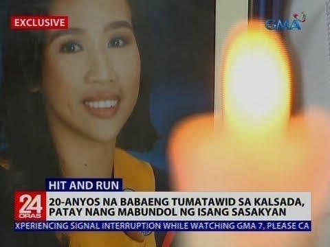 20-anyos na babaeng tumatawid sa kalsada, patay nang mabundol ng isang sasakyan