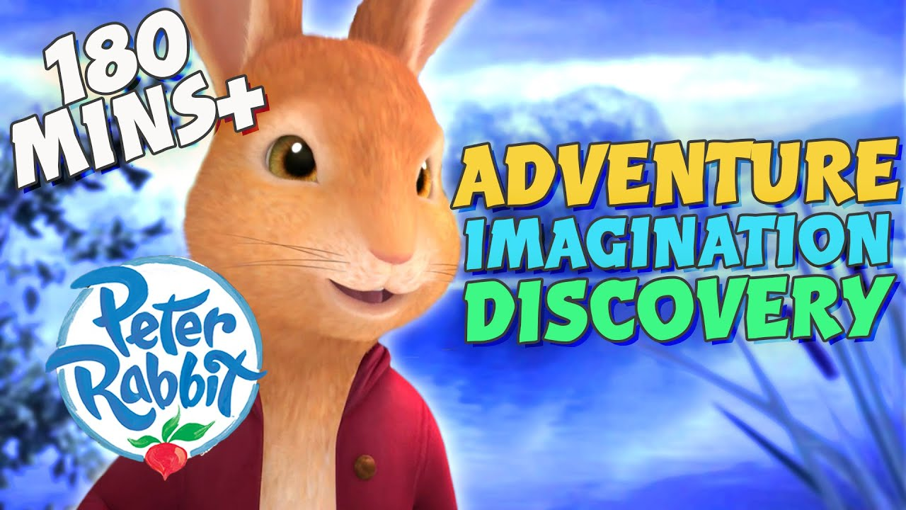 #Christmas Peter Rabbit - 3 Hours+ of Adventure, Imagination & Discovery | Cartoons for Kids