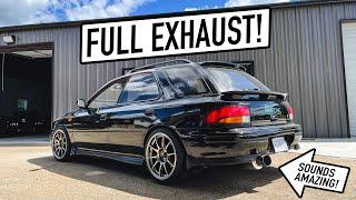 homepage tile video photo for Making my Subaru STi Wagon WAY LOUDER!! (Full Exhaust)